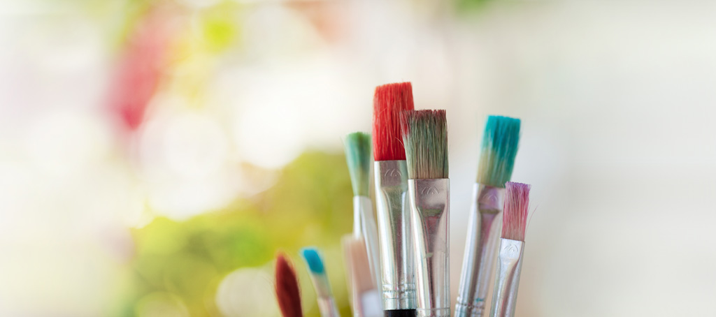 Artists' brushes