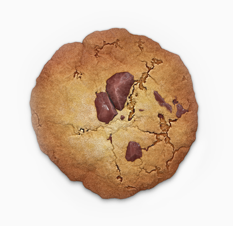 A real cookie biscuit. Sorry.